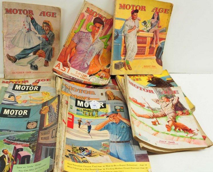 Over 80 Vintage Auto Magazines - 2