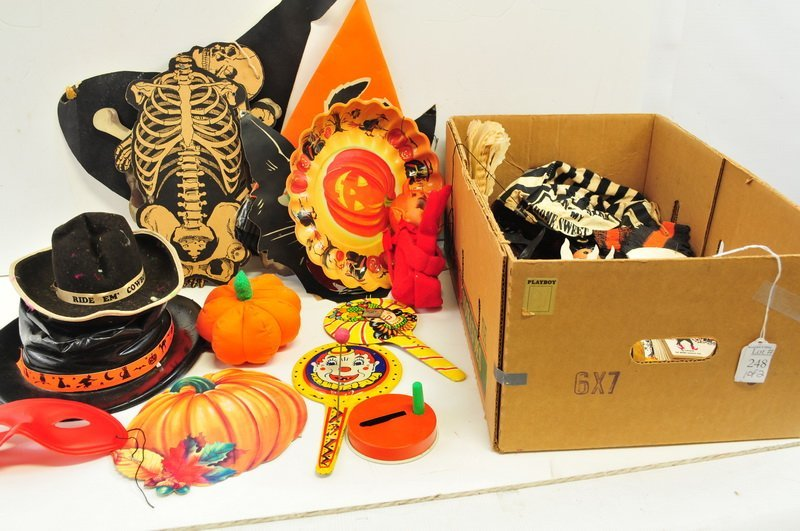 Vintage Party Items/Halloween Decorations - 2