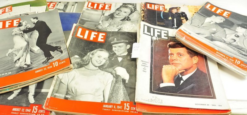 Five boxes of Assorted Life Magazines - 3