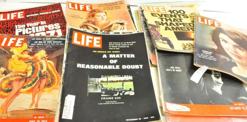 Five boxes of Assorted Life Magazines - 4
