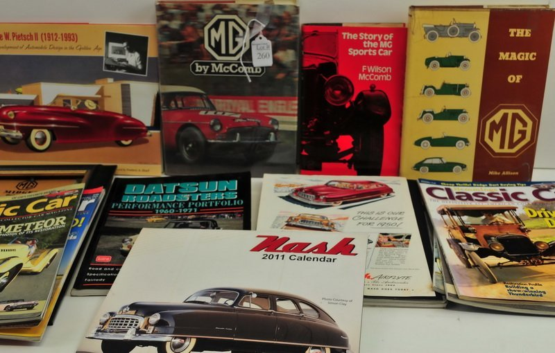 MG Midget Car Books and Magazines