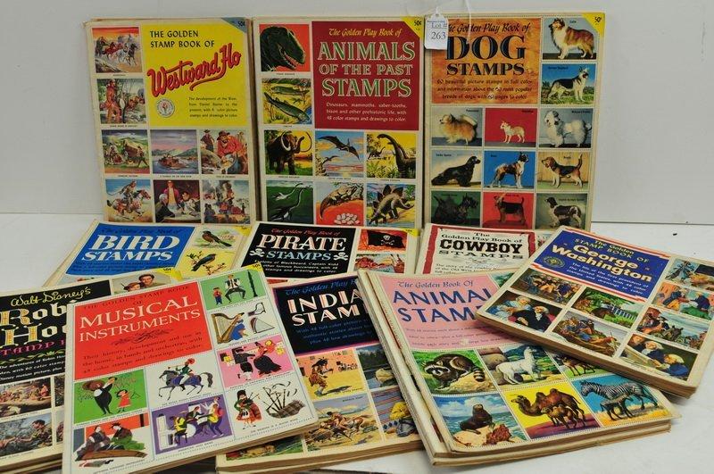 21 Golden Stamp Books