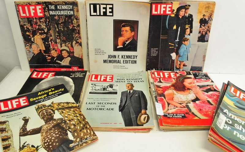 Five boxes of Assorted Life Magazines - 2