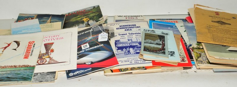 Excellent Maine Travel Ephemera