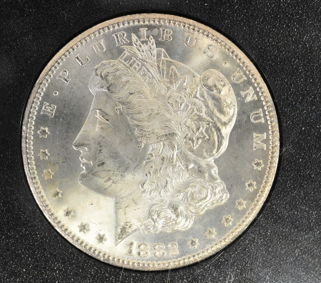 1882 CC Morgan Dollar UNC Original Mint Packaging - 2