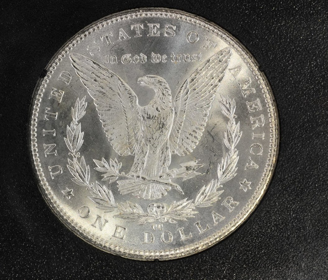 1882 CC Morgan Dollar UNC Original Mint Packaging - 3