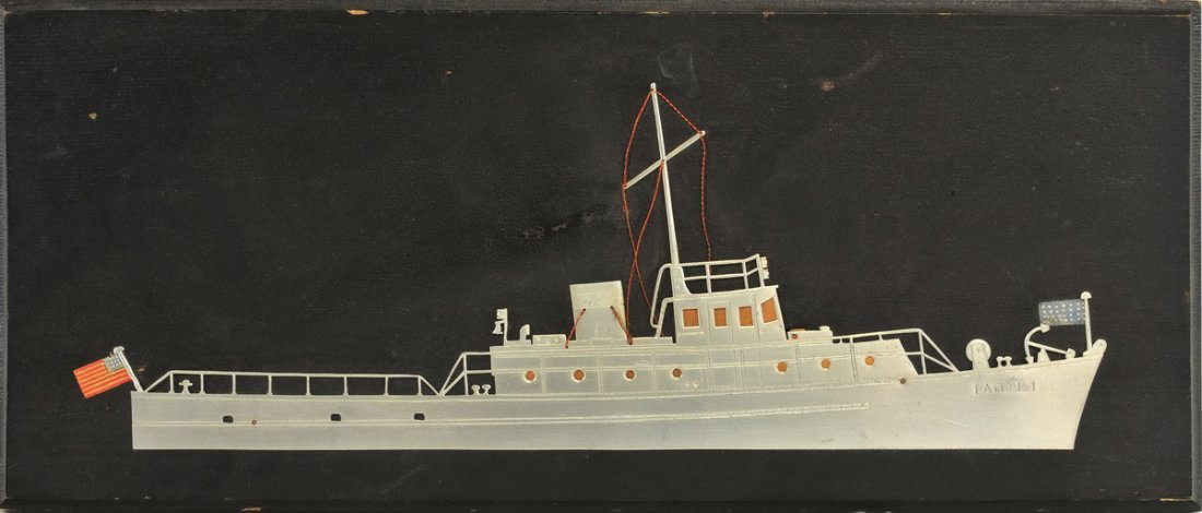 WWI Trench Art US Army Patrol Boat