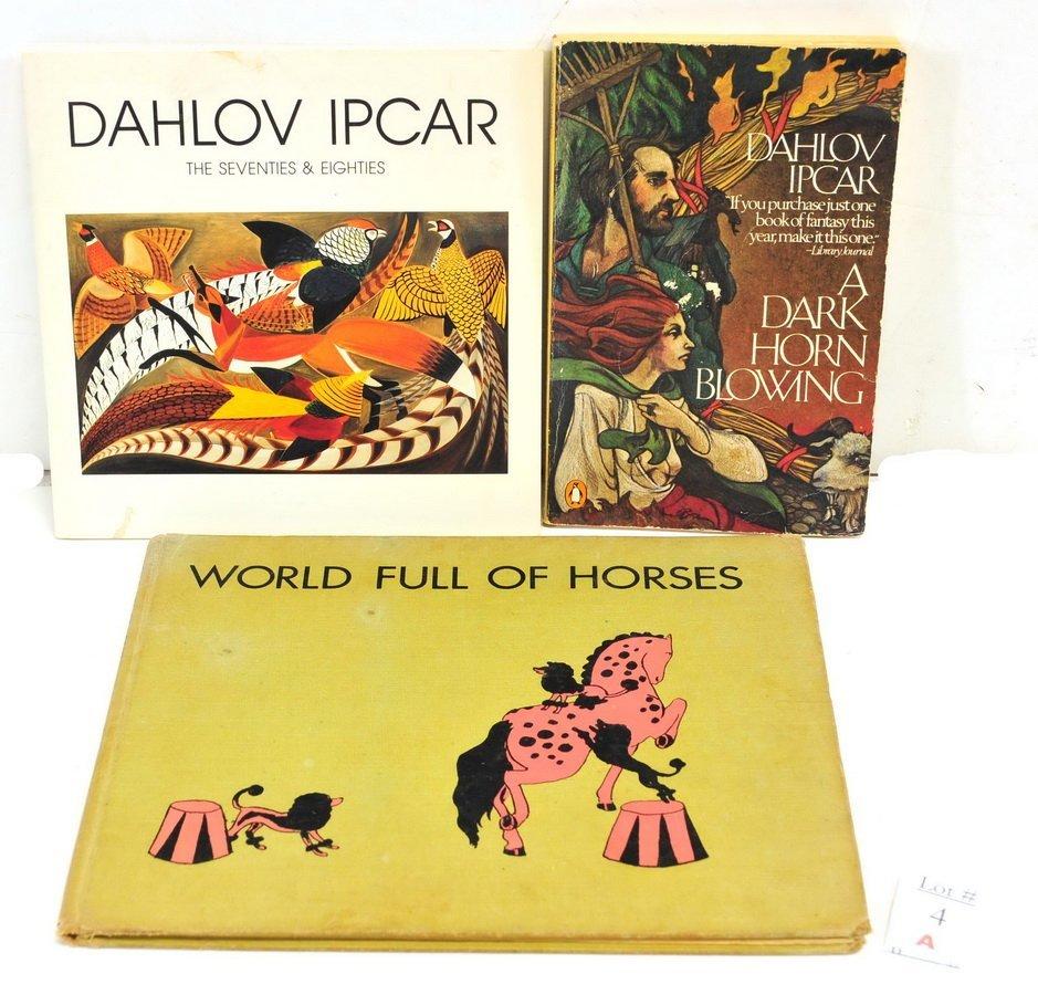 Three Dahlov Ipcar Books including Signed Copy