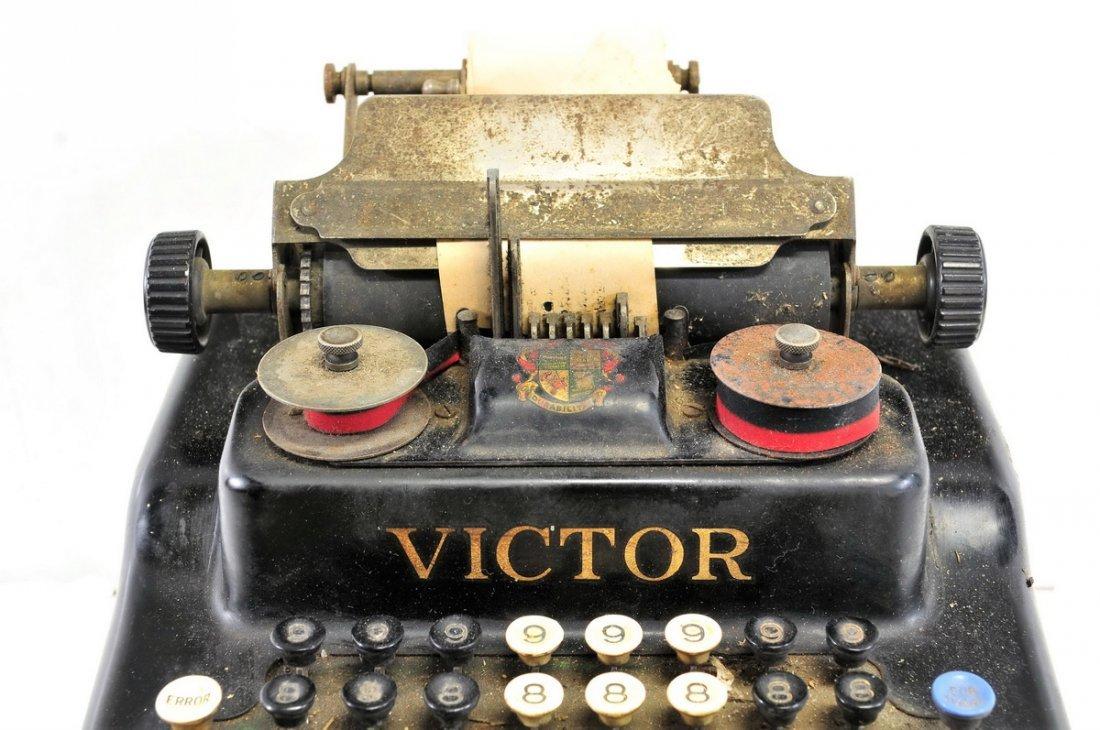 Antique Victor Adding Machine - 2