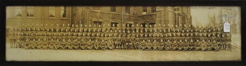 1917 Royal Canadian Air Force Yard long Photo.