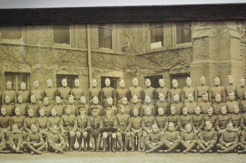 1917 Royal Canadian Air Force Yard long Photo. - 2