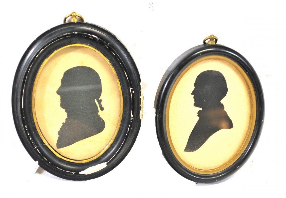 Pair of Antique Silhouettes