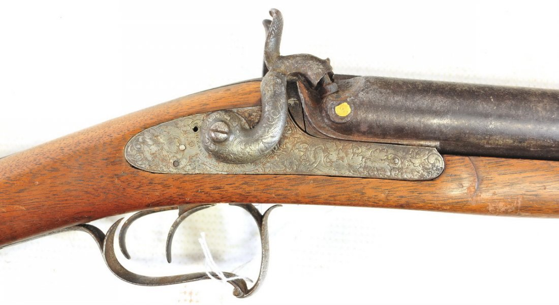 Antique H. Boker and Company NY 12 Gauge Shotgun - 4