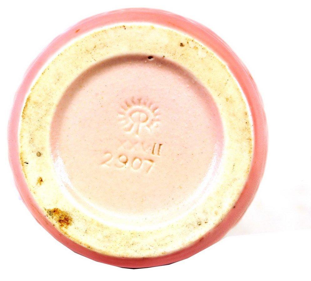 1927 Rookwood Pink Matte Vase #2907 - 2