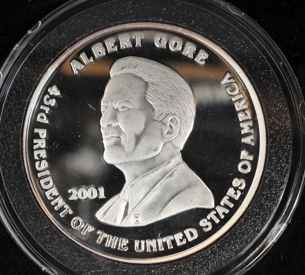 Washington Mint 1/10 OZ Gold coin & 1 OZ Silver - 5