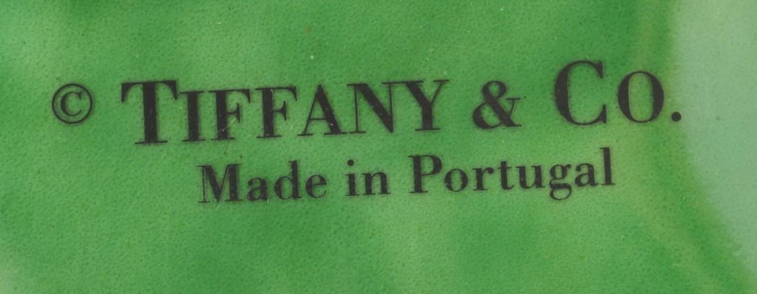 Pair of Tiffany And Company Ceramic Candle Holders - 3
