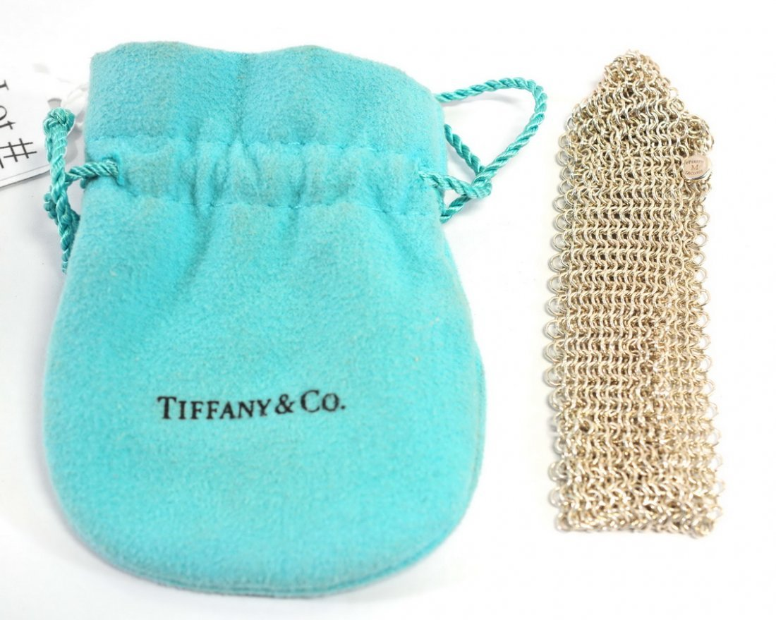 Tiffany & Co. Sterling silver Ladies Mesh Bracelet - 2