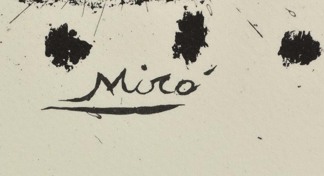 """Joan Miro Lithograph """"Star Scene"""" - 3"""