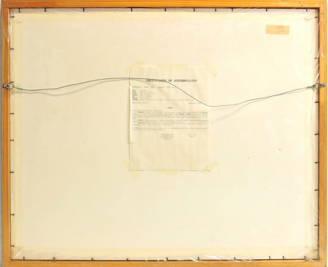 """Joan Miro Lithograph """"Star Scene"""" - 4"""