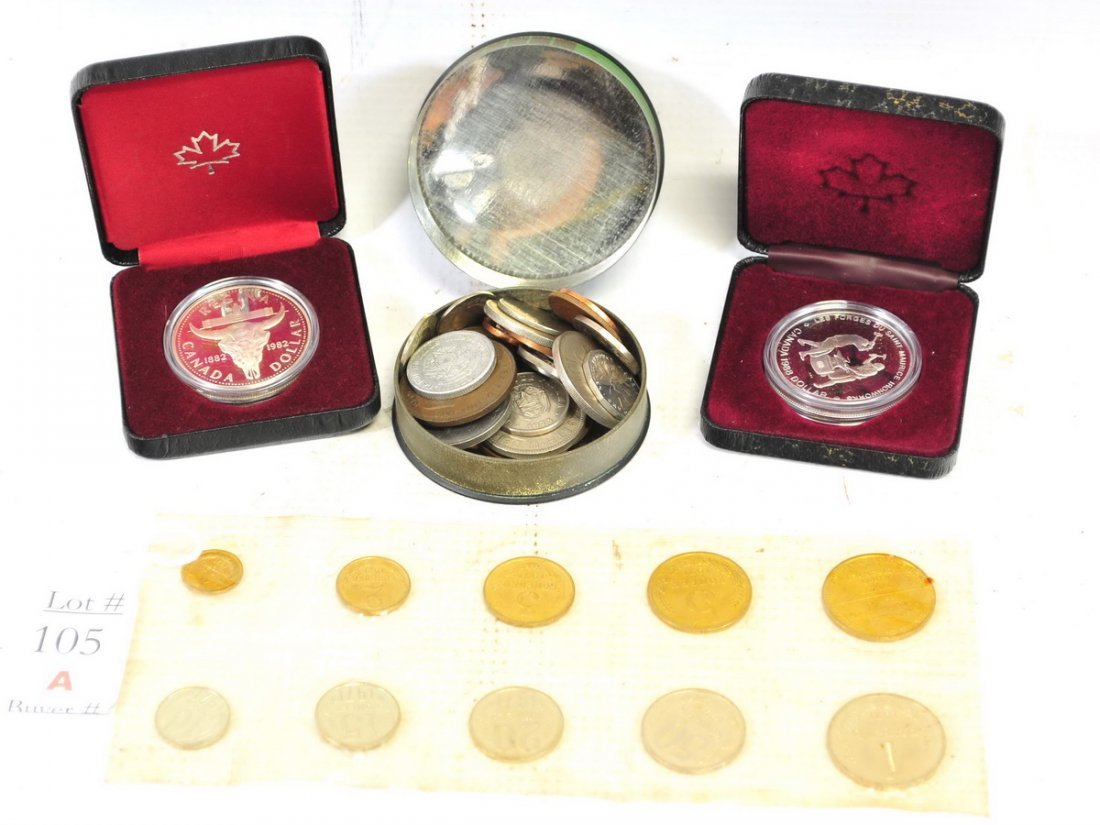 World Coin lot with coins & books - 3