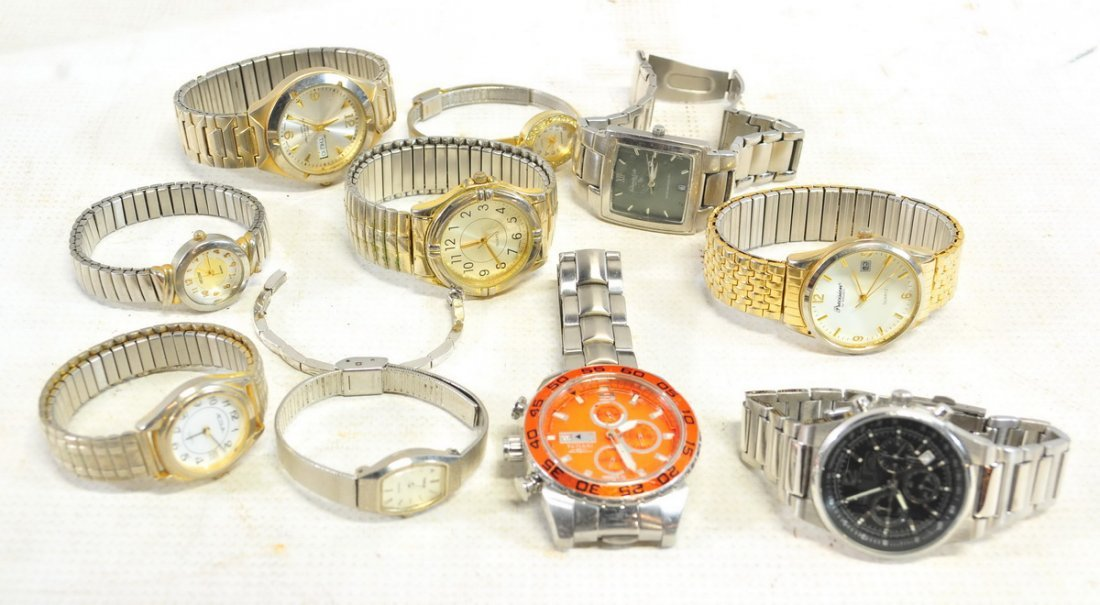 Watch, Pocket watch and clock lot