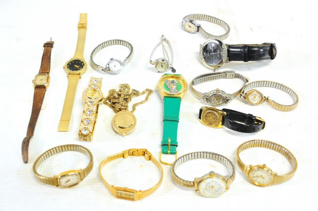 Watch, Pocket watch and clock lot - 3