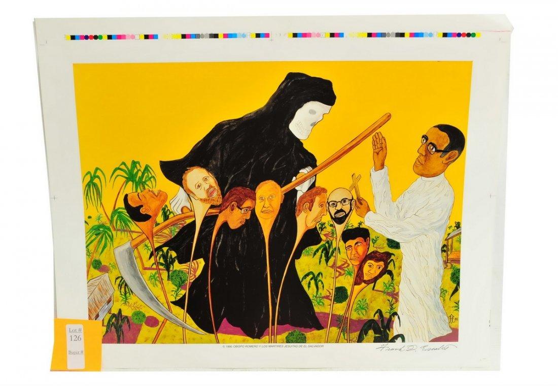 22 Frank Diaz Escalet Unframed Prints