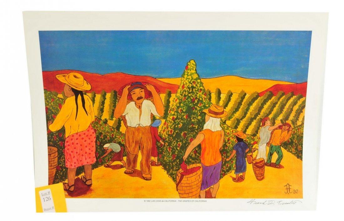 22 Frank Diaz Escalet Unframed Prints - 3