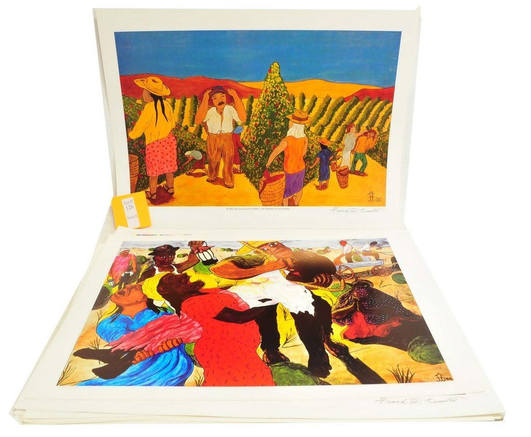 22 Frank Diaz Escalet Unframed Prints - 4