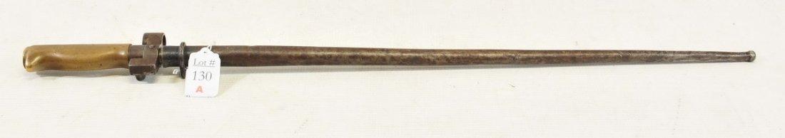 WWI French Armor Piercing Bayonet