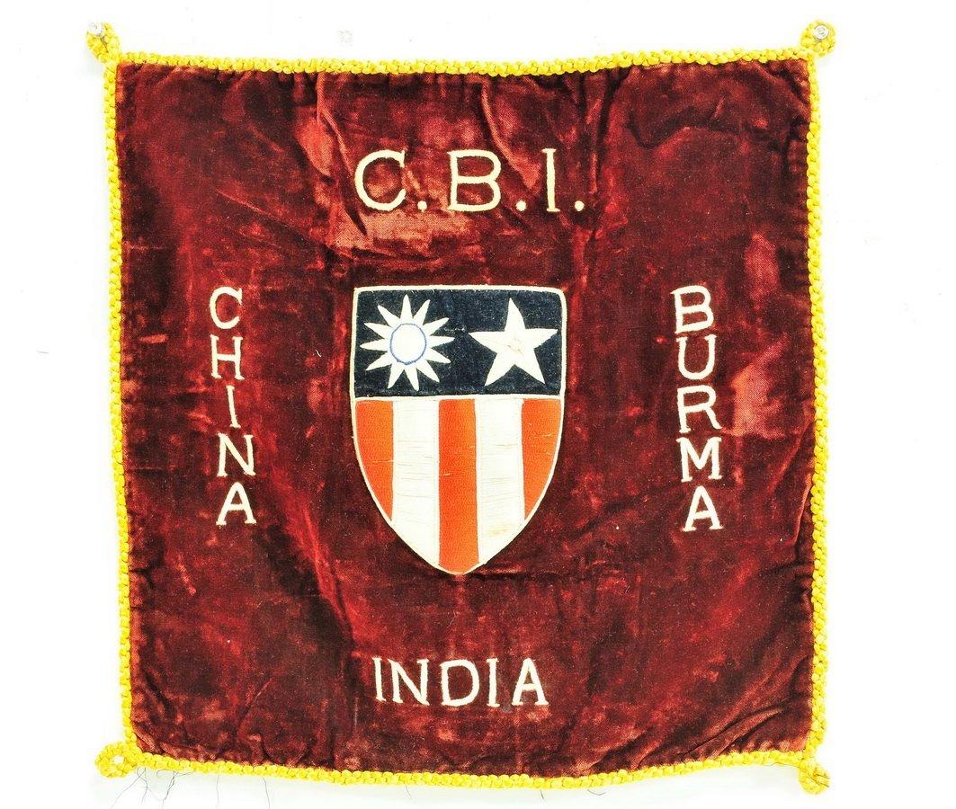 CBI China/Burma/Indian Embroidered Emblem