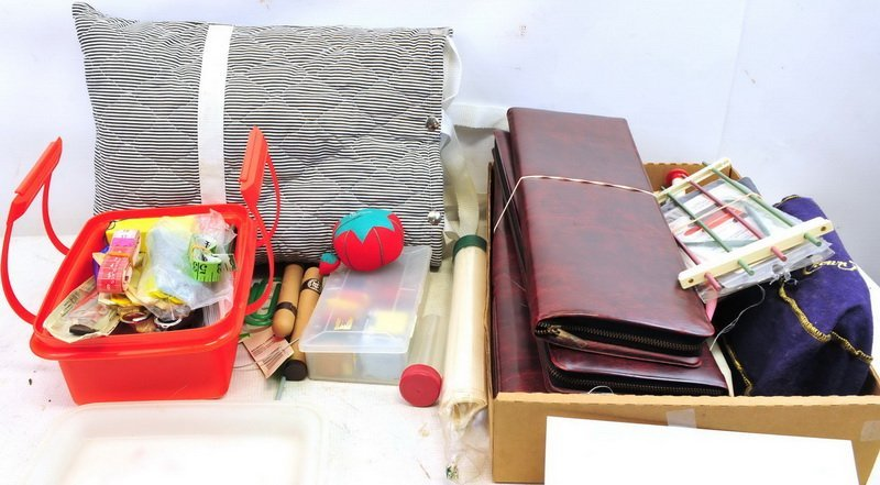 Large Assortment of Sewing/Knitting Supplies