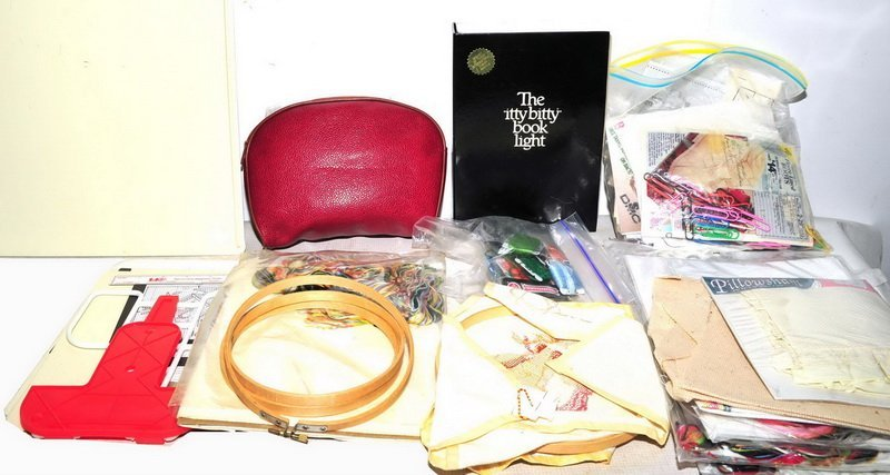 Large Assortment of Sewing/Knitting Supplies - 2