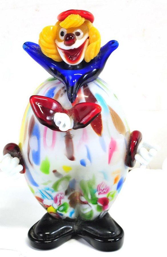 """10"""" Murano Clown"""