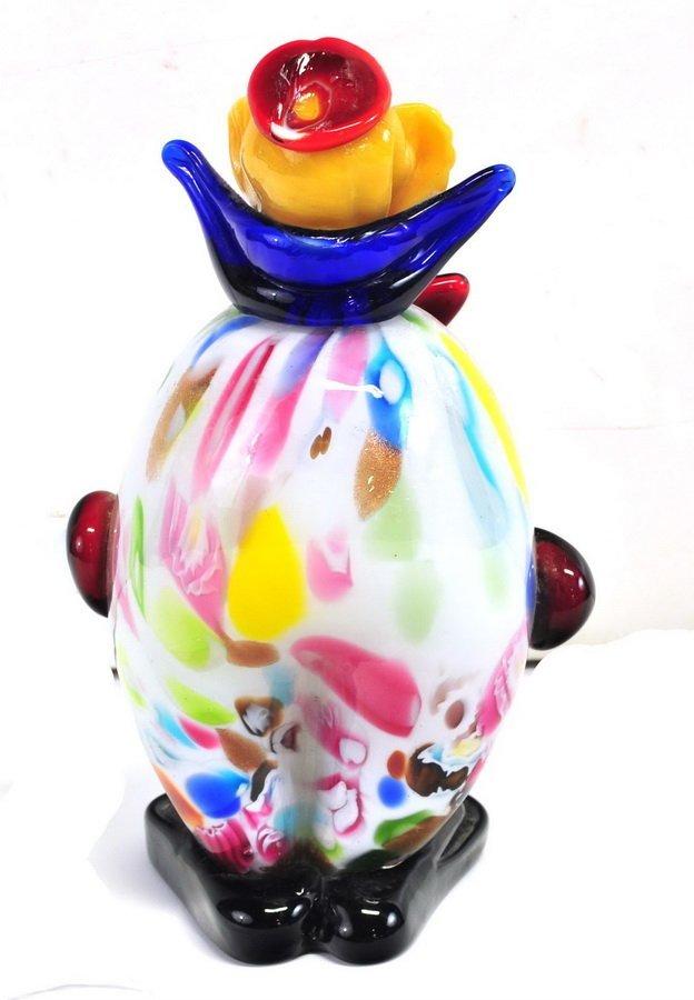 """10"""" Murano Clown - 2"""
