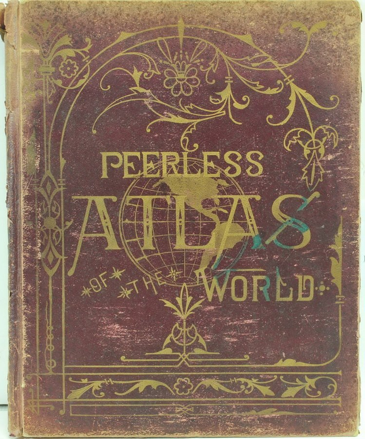 1905 Peerless Atlas of The World