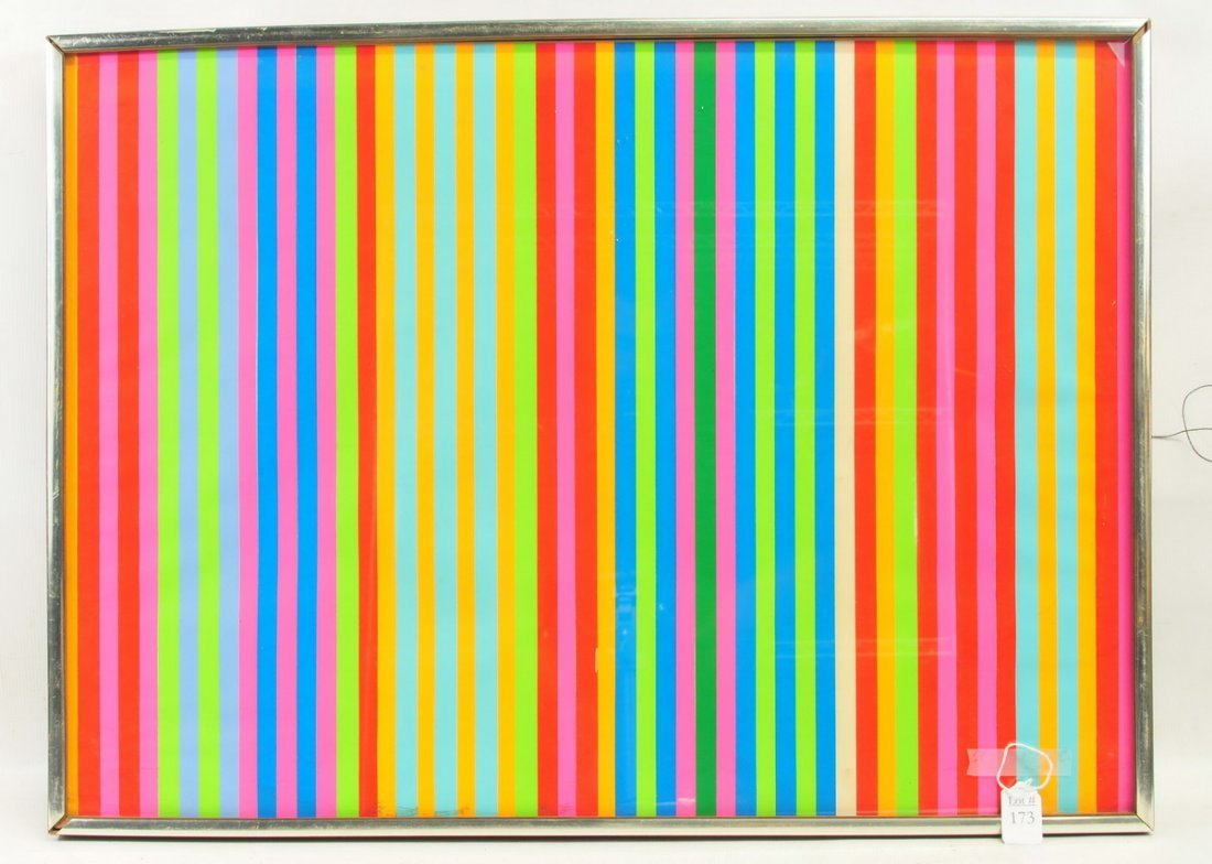 Modern Lithograph By Gene Davis