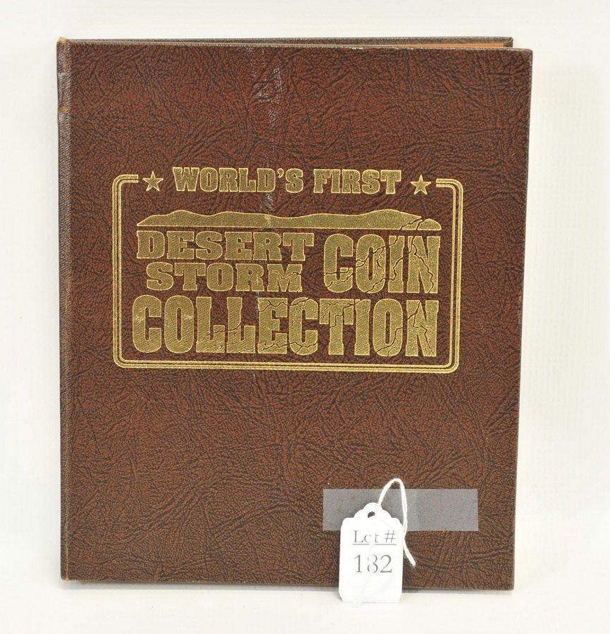 Complete Set of Desert Storm $5 Coins