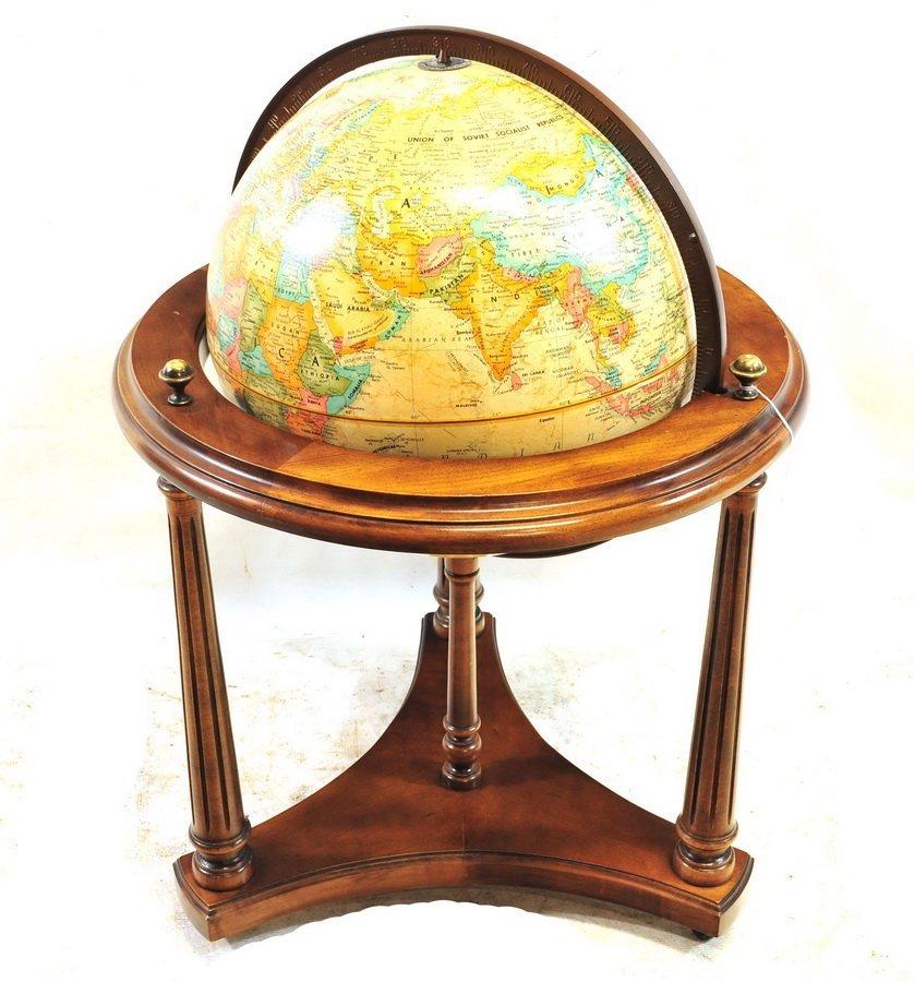 "Vintage Repogle 16"" World Classic Series Globe"