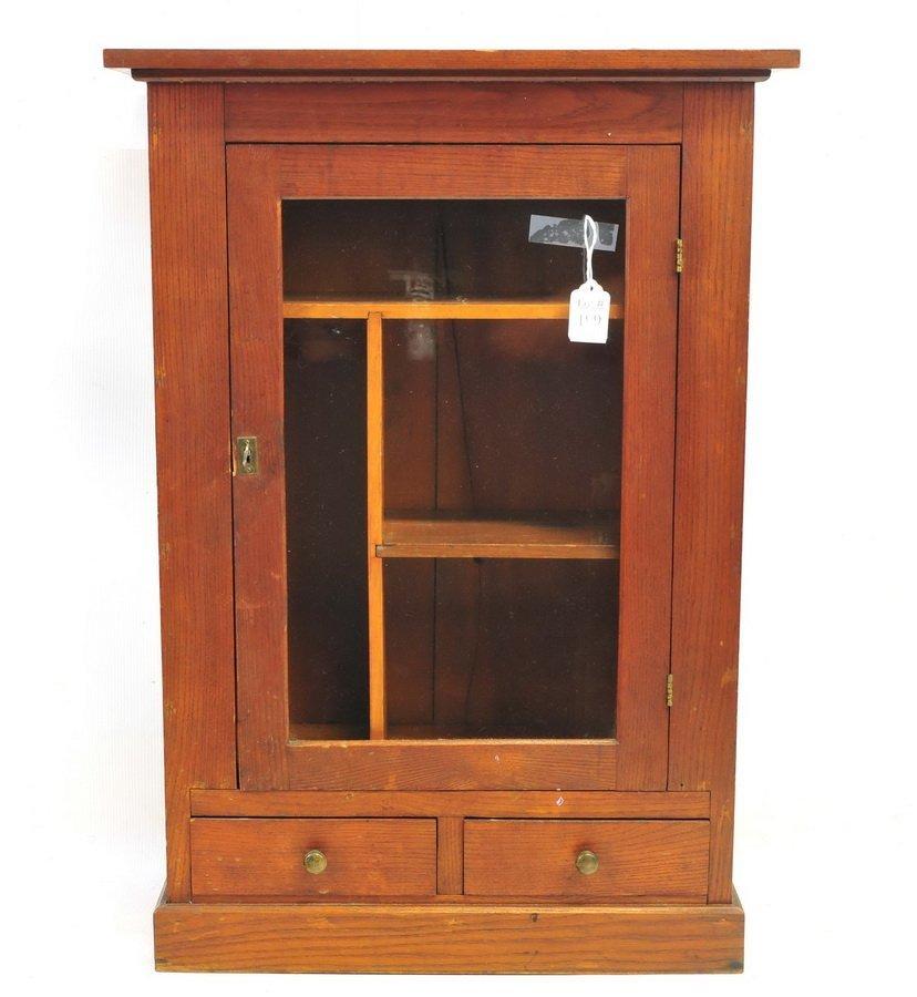 Antique Pine Medicine Cabinet