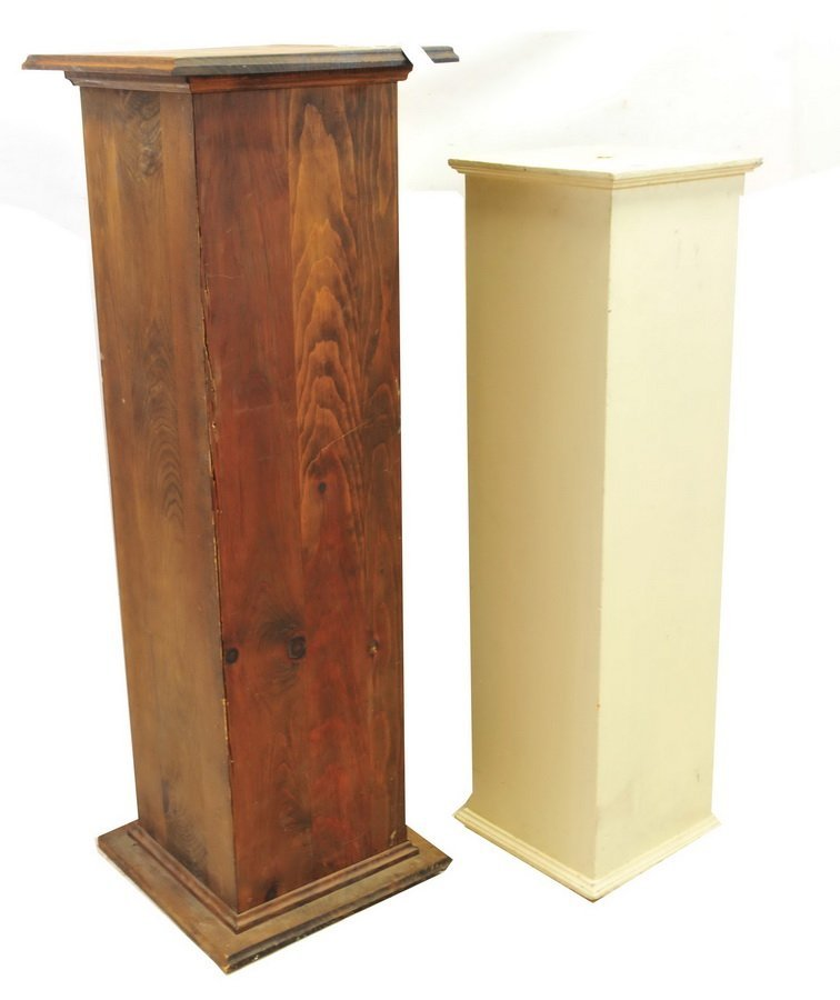 Wooden plant stands