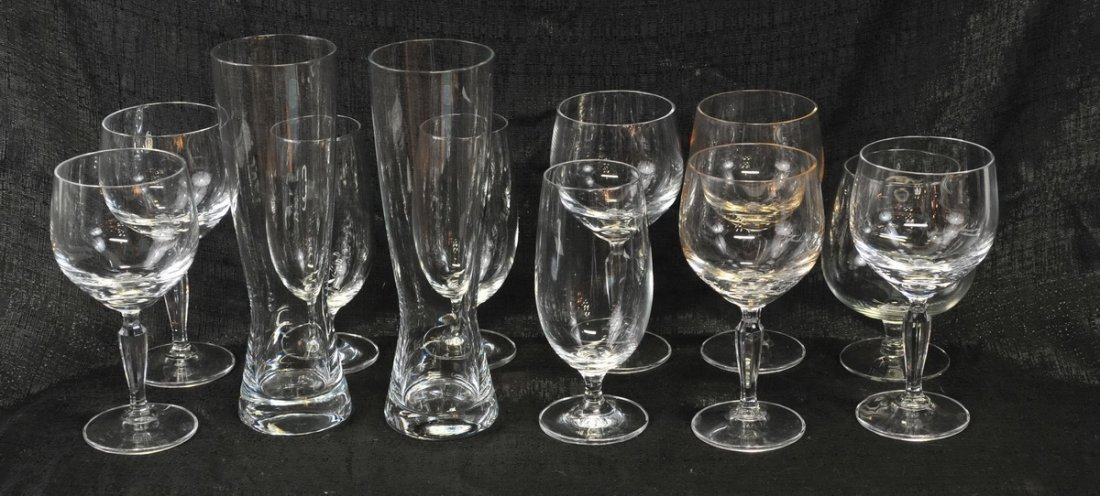 Large clear lot of glassware - 5