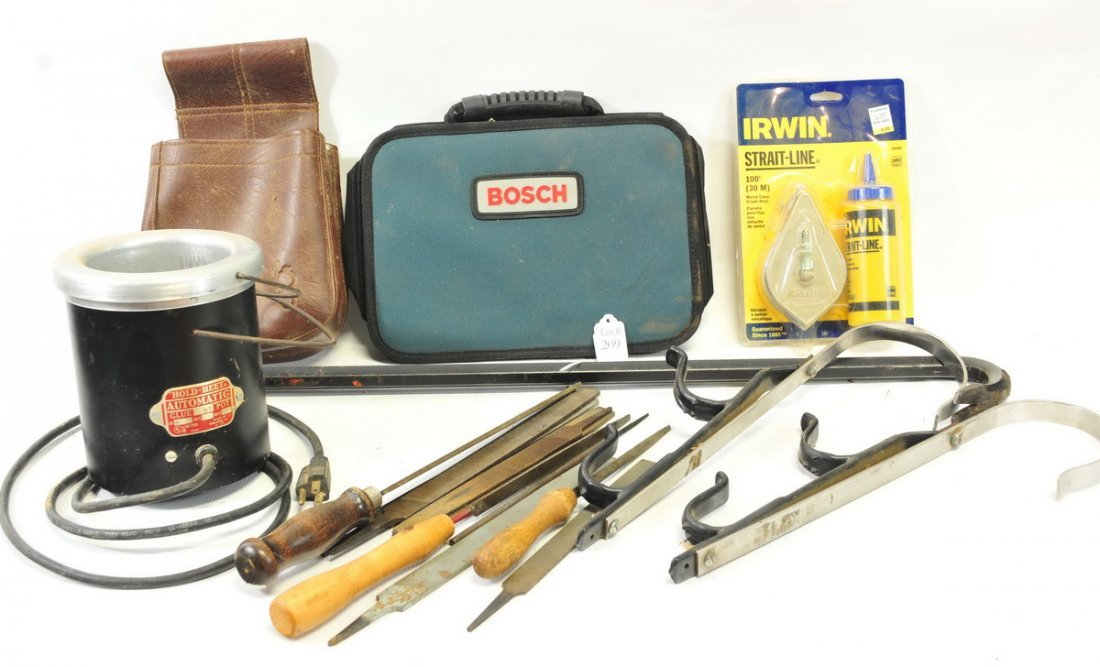 Large box of misc. tools