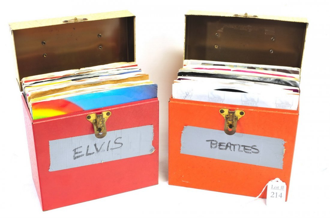 Record Albums and 45 RPM Records - 2
