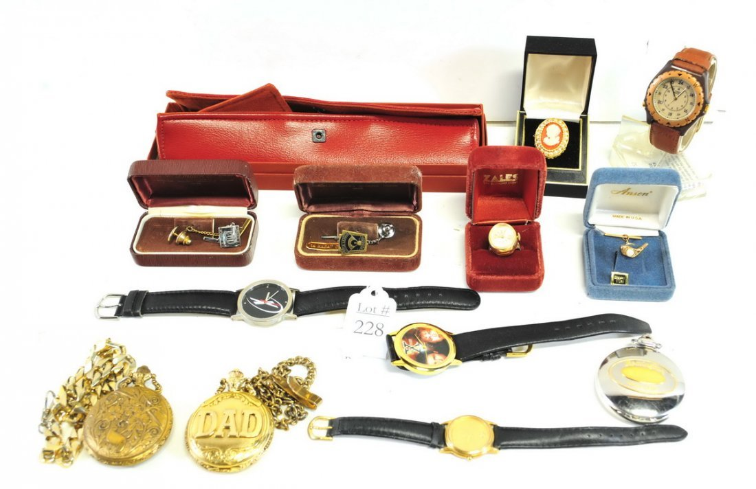 Estate Watches and Jewelry