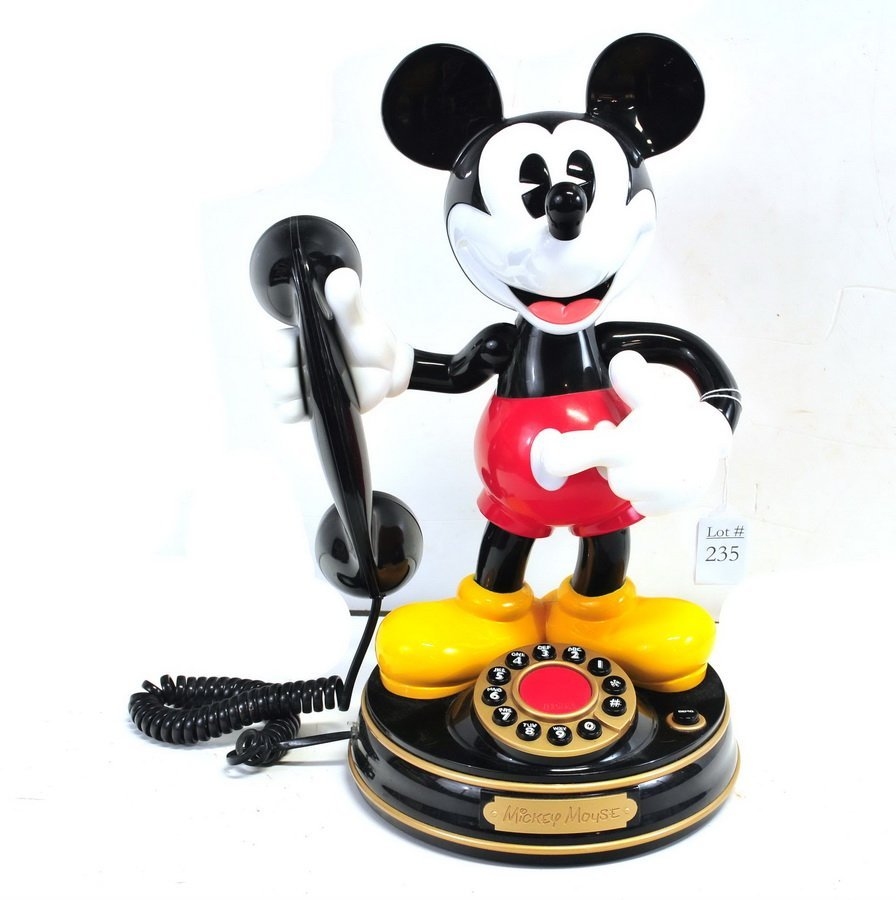 Telemania Mickey Mouse Phone