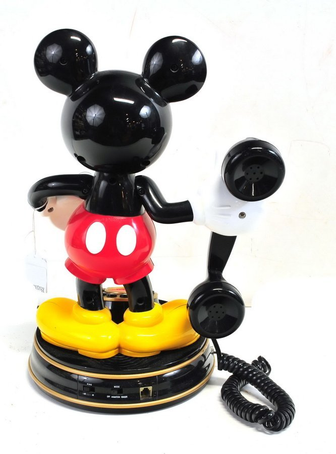 Telemania Mickey Mouse Phone - 2