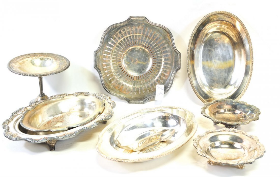 Three Boxes of Estate Silverplate