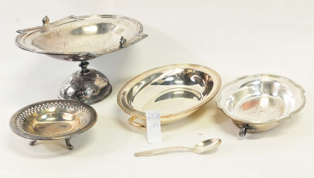 Three Boxes of Estate Silverplate - 2