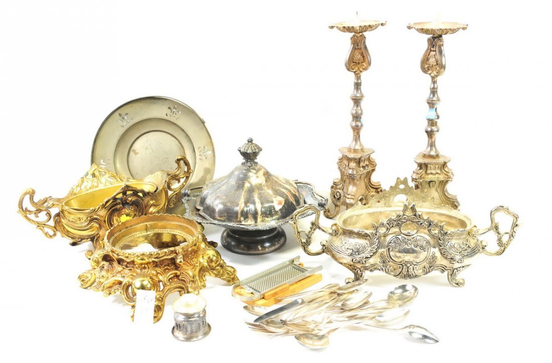 Three Boxes of Estate Silverplate - 3